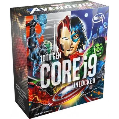 Купить  Процессор INTEL Core i9 10850K Marvel`s Avengers Collector`s Edition, LGA 1200,  BOX (без кулера)  по низкой цене в интернет-магазине