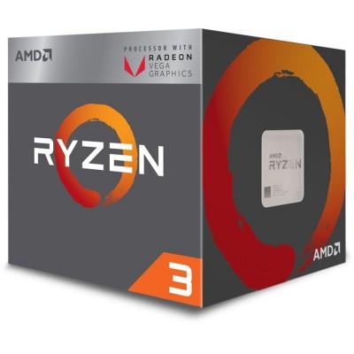 Купить процессор AMD Ryzen 3 2200G, SocketAM4,  BOX  в интернет-магазине - цены, характеристики, отзывы, обзоры