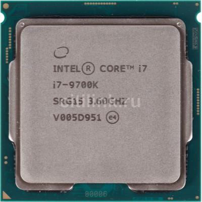 Купить  Процессор INTEL Core i7 9700K, LGA 1151v2,  OEM  по низкой цене в интернет-магазине