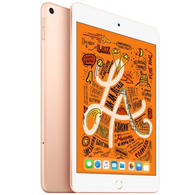 Купить недорого планшет Apple iPad mini 7.9 WF+CL 256Gb Gold MUXE2RU/A со скидкой по выгодной цене - характеристики, отзывы, обзоры, акции, скидки