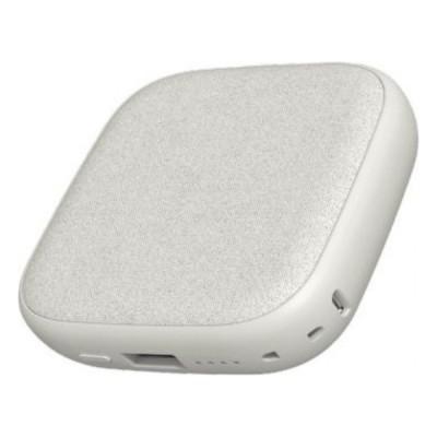 Купить внешний аккумулятор с поддержкой беспроводной зарядки Xiaomi Solove Wireless Charging Treasure W5 10000mAh (Light Grey)  в интернет-магазине с бесплатной доставкой: характеристики, отзывы