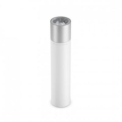 Купить внешний аккумулятор повербанк-фонарик Xiaomi MiJia Portable USB Flashlight (White)  в интернет-магазины с бесплатной доставкой: характеристики, отзывы