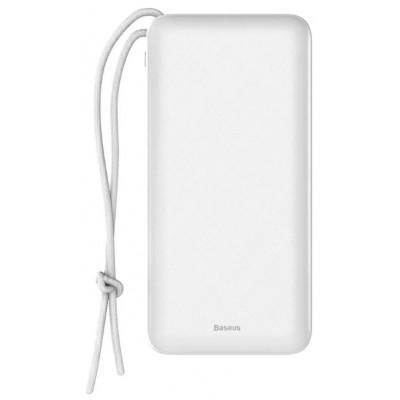 Купить  недорого внешний аккумулятор Baseus Mini Q PD Quick Charger Power Bank 20000mAh (White)  в интернет-магазине по низкой цене с бесплатной доставкой - характеристики, отзывы, обзоры