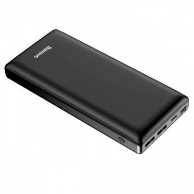 Купить внешний аккумулятор Xiaomi Baseus Mini Fast Charge Power Bank 3A 30000mAh PPJAN-C02 (Black)  в интернет-магазины с бесплатной доставкой: характеристики, отзывы, обзоры, акции, скидки