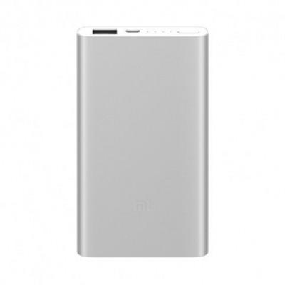 Купить недорого в Ярославле внешний аккумулятор Xiaomi Mi Power Bank Slim 2 5000 mAh (Silver) - цены, отзывы, характеристики, обзоры.