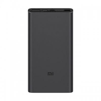 Купить внешний аккумулятор Xiaomi Mi Power Bank 3 10000 PLM12ZM (Black)  в интернет-магазины с бесплатной доставкой: характеристики, отзывы