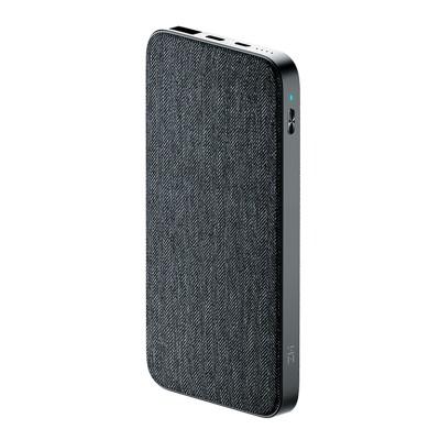 Купить Xiaomi ZMI Two-Way Fast Charge Power Bank 10000 mAh (Grey)  в интернет-магазины с бесплатной доставкой: характеристики, отзывы
