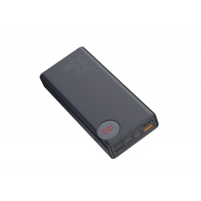 Купить внешний аккумулятор Xiaomi Baseus Mulight Quick Charge & Power Bank 33W 30000mAh PPMY-01 (Black)  в интернет-магазины с бесплатной доставкой: характеристики, отзывы