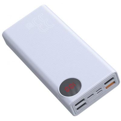Купить недорого внешний аккумулятор Xiaomi Baseus Mulight Quick Charge & Power Bank 33W 30000mAh PPMY-02 (White)  в интернет-магазине по низкой цене с бесплатной доставкой - характеристики, отзывы, обзоры