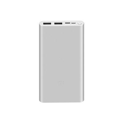 Купить Внешний аккумулятор Xiaomi Mi Power Bank 3 10000mAh PLM13ZM (Silver)  в интернет-магазины с бесплатной доставкой: характеристики, отзывы