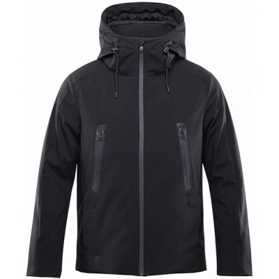 Купить умную смарт-куртку с подогревом Xiaomi 90Points Temperature Control Jacket Black Чёрная - цены, характеристики, отзывы, обзоры