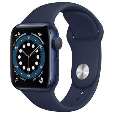 Смарт-часы APPLE Watch Series 6 40мм Blue Синий - отзывы, обзоры, характеристики