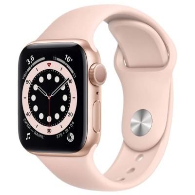 Смарт-часы APPLE Watch Series 6 44мм Gold Золотистый - отзывы, обзоры, характеристики