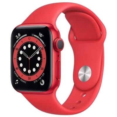 Смарт-часы APPLE Watch Series 6 44мм PRODUCT(RED) Красный - отзывы, обзоры, характеристики