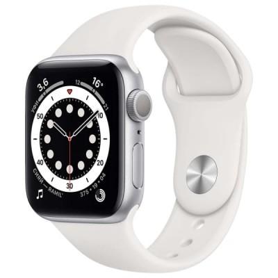 Смарт-часы APPLE Watch Series 6 44мм Silver Серебристый - отзывы, обзоры, характеристики