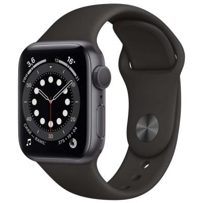 Смарт-часы APPLE Watch Series 6 40мм Space Gray Серый Космос - отзывы, обзоры, характеристики