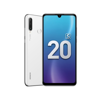 Купить смартфон honor 20s 6/128GB в интернет-магазине по низкой цене Ледяной Белый