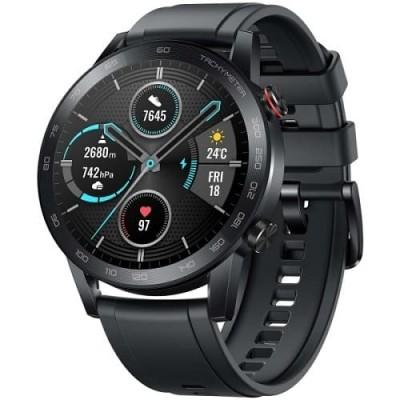 Купить смарт-часы HONOR MagicWatch 2 42 мм Charcoal Black Чёрные - цены, отзывы, характеристики, обзоры