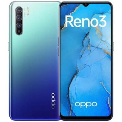 Купить OPPO Reno 3 8/128GB Auroral Blue Синий - цены характеристики отзывы обзоры