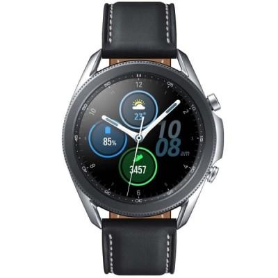 Купить смарт часы Samsung Galaxy Watch 3 45mm Silver Серебряные - цены, характеристики, отзывы, обзоры