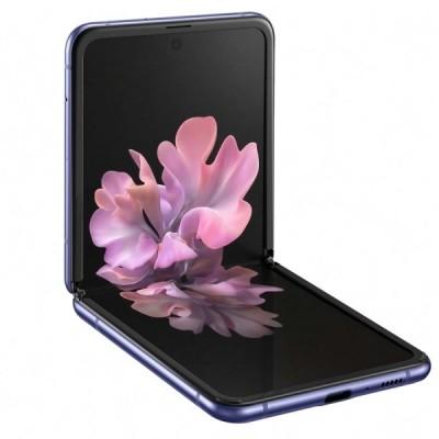 Купить складной смартфон Samsung Galaxy Z Flip Purple - цены, характеристики, отзывы, обзоры
