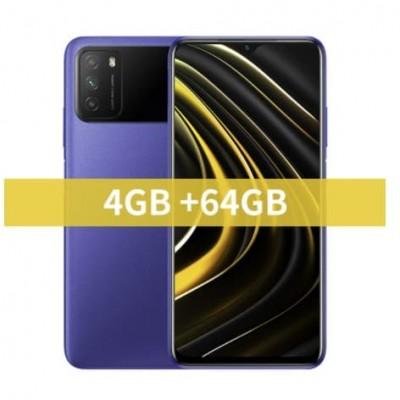 Купить недорого смартфон Xiaomi POCO M3 4/64GB Blue Синий по низкой цене в интернет-магазине  - цены, характеристики, отзывы, обзоры