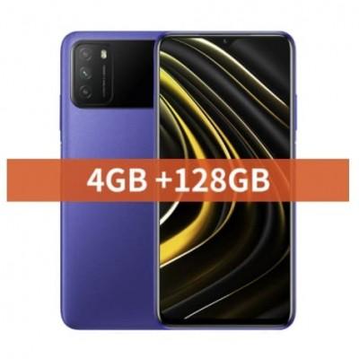 Купить недорого смартфон Xiaomi POCO M3 4/128GB Blue Синий по низкой цене в интернет-магазине  - цены, характеристики, отзывы, обзоры