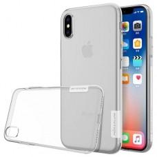 Прозрачный силиконовый чехол ТПУ Nillkin для iPhone X