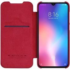 Кожаный защитный чехол Nillkin красный для Xiaomi 9 SE