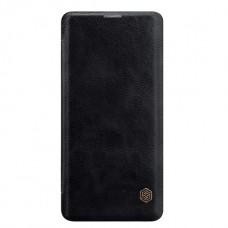 Защитный чехол-книжка Nillkin чёрный для Samsung Galaxy S10 Plus