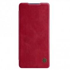 Чехол-книжка Nillkin Qin для Samsung Galaxy S20 Plus Красный