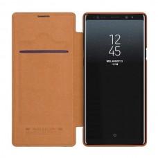 Чехол-книжка Nillkin Qin для Samsung Galaxy Note 9 Коричневый