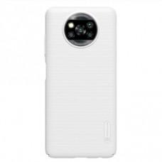 Защитный чехол Nillkin белый для Xiaomi Poco X3 NFC