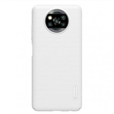 Купить защитный чехол Nillkin белый для Xiaomi Poco X3 NFC - цены отзывы обзоры