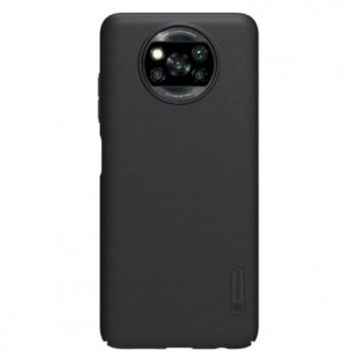 Купить защитный чехол Nillkin Black Чёрный для Xiaomi Poco X3 NFC - цены отзывы обзоры