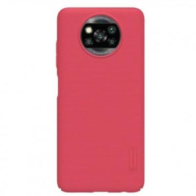 Купить защитный чехол Nillkin Red Красный для Xiaomi Poco X3 NFC - цены отзывы обзоры