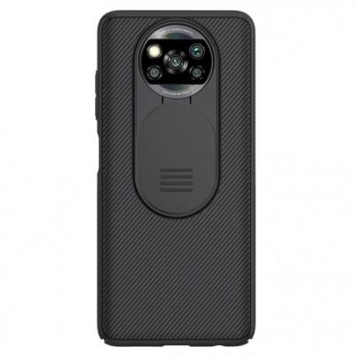 Купить защитный чехол Nillkin CamShield Black для Xiaomi Poco X3 NFC - цены отзывы обзоры