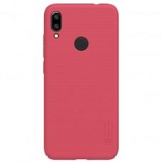 Защитный чехол Nillkin розово-красный для Xiaomi Redmi Note 7