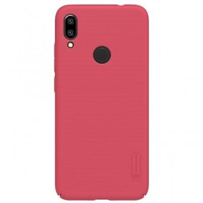 Защитный чехол Nillkin розово-красный для Xiaomi Redmi Note 7 - цены отзывы обзоры