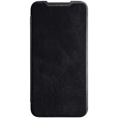 Купить кожаный защитный чехол-книжка Nillkin чёрный для Xiaomi 9 SE - цены отзывы обзоры