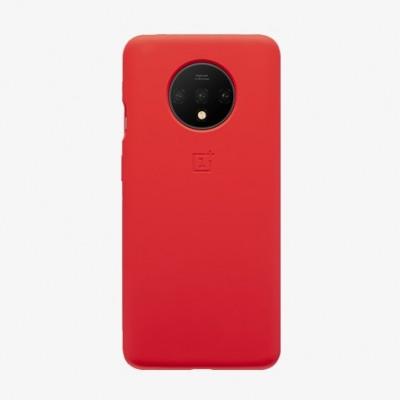 Купить оригинальный силиконовый чехол для OnePlus 7T Красный - цены, отзывы, обзоры