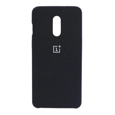 Купить силиконовый мягкий чехол чёрный для OnePlus 7 - цены отзывы обзоры