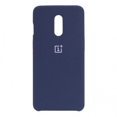 Купить силиконовый мягкий чехол Dark Blue Тёмно-синий для OnePlus 8 - цены отзывы обзоры