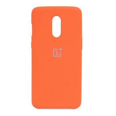 Купить силиконовый мягкий чехол Orange Оранжевый для OnePlus 6 - цены отзывы обзоры