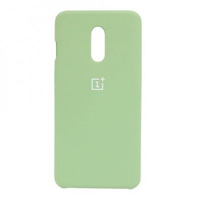 Купить силиконовый мягкий чехол Green Зелёный для OnePlus 7 - цены отзывы обзоры