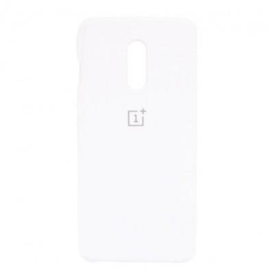 Купить силиконовый мягкий чехол White Белый для OnePlus 6 - цены отзывы обзоры