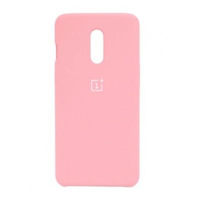 Купить силиконовый мягкий чехол Pink Розовый для OnePlus 7 Pro - цены отзывы обзоры