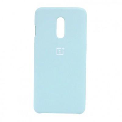 Купить силиконовый мягкий чехол Light Blue Светло-синий для OnePlus 7T Pro - цены отзывы обзоры