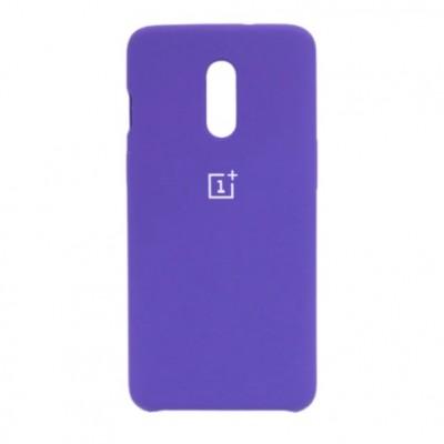 Купить силиконовый мягкий чехол Purple Фиолетовый для OnePlus 7 - цены отзывы обзоры