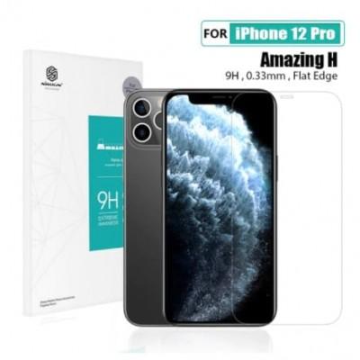 Купить защитное стекло Nillkin Amazing CP + PRO для Apple iPhone 12 Pro - цены, отзывы, обзоры